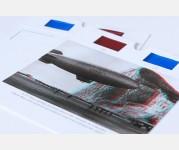 3D postcards