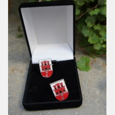Gibraltar Coat of Arms Cufflinks