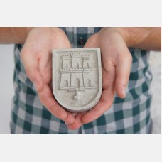 Castle and Key paperweight